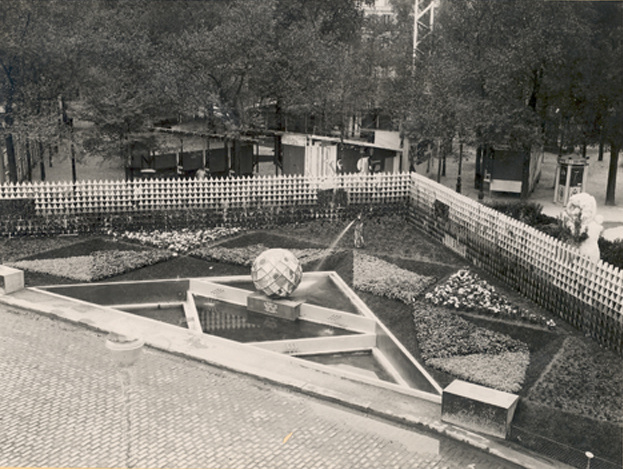 The cubist garden tehran projects for Expo jardin paris